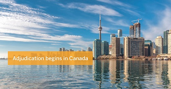 Adjudication begins in Canada | Driver Group Plc