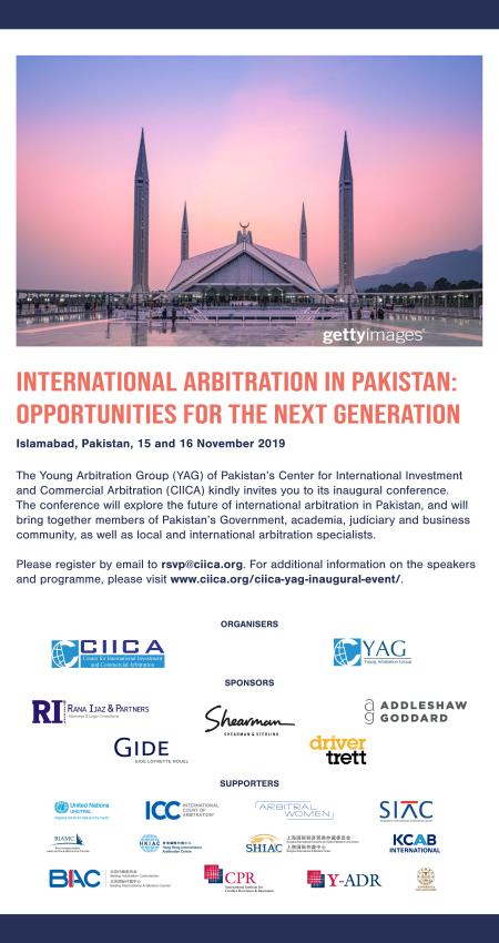 International Arbitration Pakistan