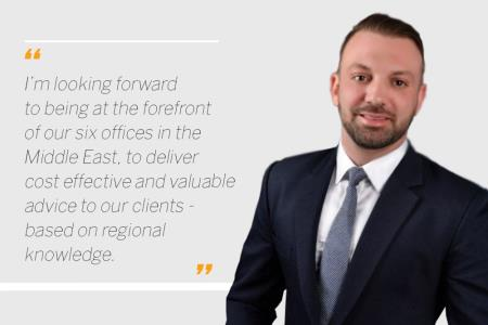Stefan Panaourgias is promoted to Managing Director of the Middle East
