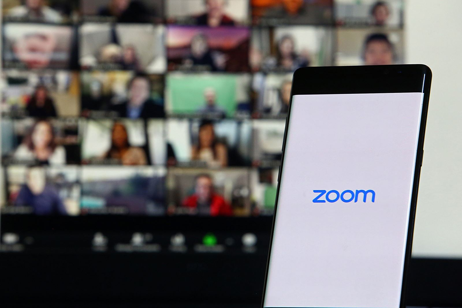 Remote trial on zoom
